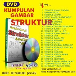 Kumpulan [DVD] Gambar STRUKTUR (AutoCad)