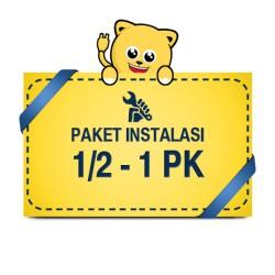 Paket Pasang AC 0,5 - 1 PK + Material 3 Meter