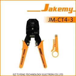 Tang Crimping Plier LAN Network Cable RJ45 / RJ-11- Jakemy JM-CT4-3