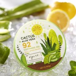 NPURE Cactus Aloe Vera Soothing Gel 300 ml