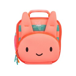Wigglo Lunch Bag Classic Rabbit Pink