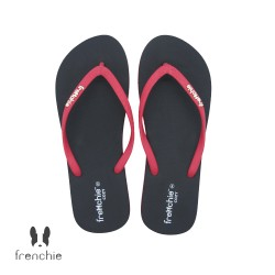 FRENCHIE Sandal Jepit Black Red COZY SCW04