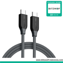BlitzWolf BW-TC4 USB Type-C To Type-C Cable 1m Fast Charging Cable