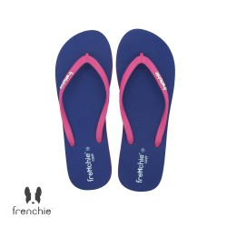 FRENCHIE Sandal Jepit Navy Blue Pink COZY SCW01