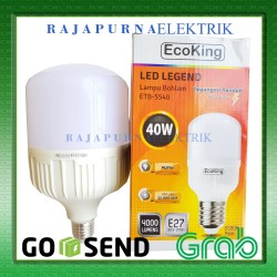LAMPU LED BULB JUMBO ECOKING 40W / 40 watt SUPER TERANG