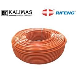 """Pipa Air Panas 1/2"""" x 1 Mtr (RIFENG) - PE(x) Multilayer Orange B1216"""