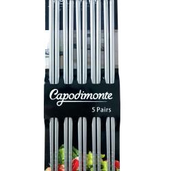 10 Pcs Stainless Steel Chopsticks / Sumpit Korea 23 CM