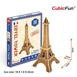 CUBICFUN Eiffel Tower Mini - 3D Puzzle