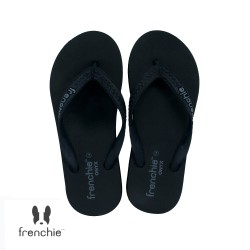 FRENCHIE Sandal Jepit ONYX COZY SOM03 Black Grey