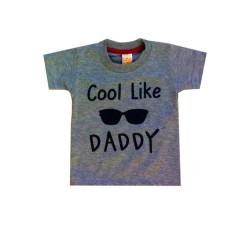 BAJU BAYI LAKI PLEU T-SHIRT COOL LIKE DADDY