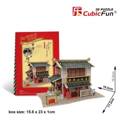 CUBICFUN Chinese Snack Bar - 3D Puzzle