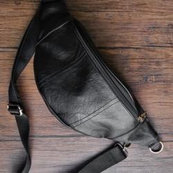 BRONX Black Bum Bag / waist bag / sling bag from The Daily Smith
