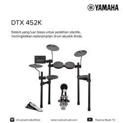 Yamaha DTX 452K ELECTRIC DRUMS