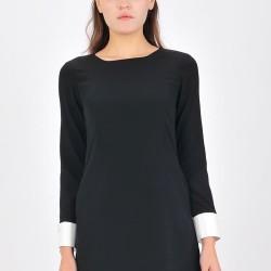 Mini Dress Wanita Nifera - Hitam
