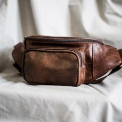 HOUSTON Brown - Bum Bag / Waist Bag from The Daily Smith