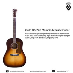 Guild DS 240 Memoir Acoustic Guitar
