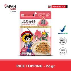 Makanan Instan Nagatanien Furikake Sake 26Gr - Taburan nasi