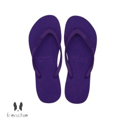 Frenchie Slipper Slim All Purple SSL04