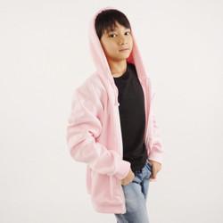 Hoodieku Kids Hoodie Zipper Baby Pink Laki-laki