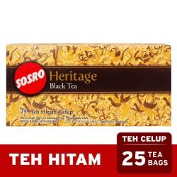 Teh Celup Sosro Black Heritage 25 Bags - Tea Bag