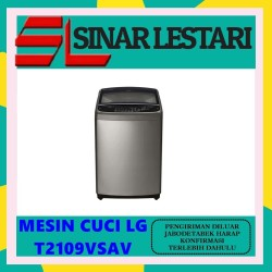 LG T2109VSAV T2109VSAV MESIN CUCI TOP LOADING 9 KG PROMO BERGARANSI