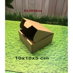 Kardus Karton Box Uk. 10x10x5 cm.....DIE CUT