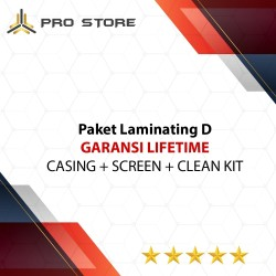 PAKET ST D - CASING + SCREEN + CLEAN KIT (GARANSI LIFETIME)