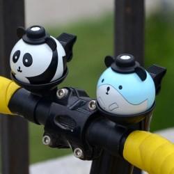 Bel sepeda model panda atau hamster