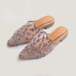 VAIA Sepatu Wanita Raellyn Brown 2CM