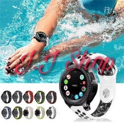 Sport Silicone Strap Band Volt Samsung Gear S3 Classic Frontier 22 mm