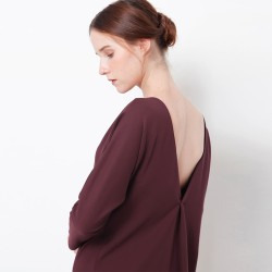Chocochips - Winola Dress Maroon