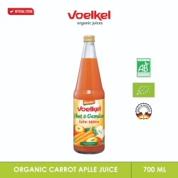 VOELKEL ORGANIC CARROT APPLE JUICE 700 ML
