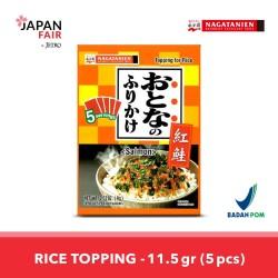 Makanan Instan Nagatanien Otona no Furikake Benizake Salmon