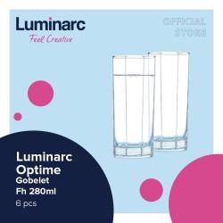 Luminarc Drinkware Octime - Gobelet Fh 280ml - 6pcs