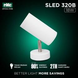 Lampu SLED NVC-320 / Warm 18W 220-240V / SurfaceMounted Track Lighting