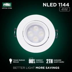 Lampu NLED NVC 1144ND / Putih 4W 220-240V / Lampu Spotlight