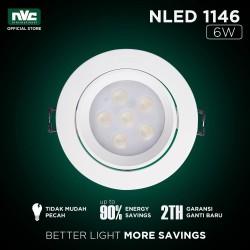 Lampu NLED NVC 1146ND / Putih 6W 220-240V / Lampu Spotlight