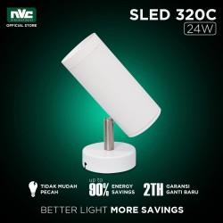 Lampu SLED NVC-320 / Warm 24W 220-240V / SurfaceMounted Track Lighting