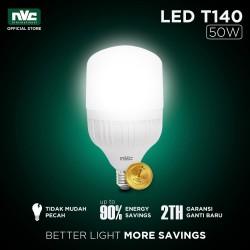 Lampu LED NVC-T140 / Warna Putih 50 Watt / Bohlam Murah Hemat Listrik