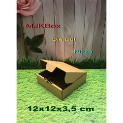 kardus/karton/box.uk.12x12x3,5 cm .....Model Die Cut