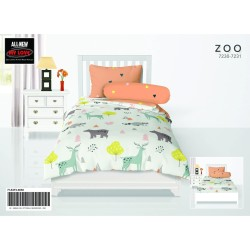 BED COVER SINGLE ALL NEW MY LOVE FULL FITTED 120X200 ZOO