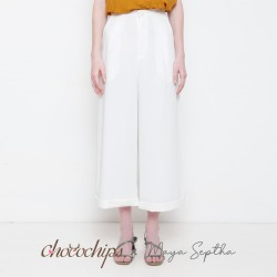 Chocochips - Yansen Pants White