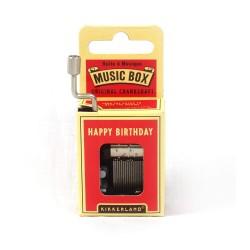 KIKKERLAND MUSIC BOX - HAPPY BIRTHDAY