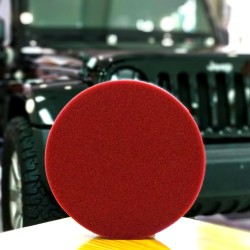 IPO Foam Pad Red Flat 6inch for Cutting