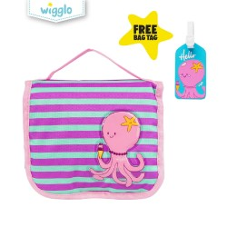 Wigglo Hanging Toiletries Bag Octopus