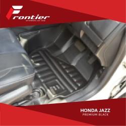 Karpet Mobil Frontier Untuk Honda Jazz Type Premium Black