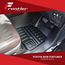 Karpet Mobil Frontier Untuk Toyota New Fortuner Type Premium Black