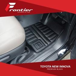 Karpet Mobil Frontier Untuk Toyota New Innova Type Premium Black