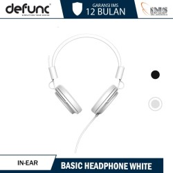 Defunc Headphone Basic - White