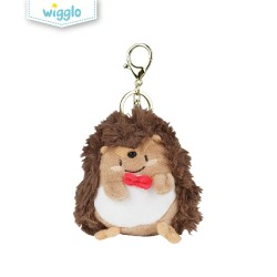 Wigglo Fluffy Hedgehog Keychain